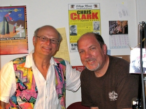 Arnold Levine and Steve Roby, Jimi Hendrix historian.