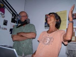 Laura Goldman, host of Laura's Living Room on KOWS
