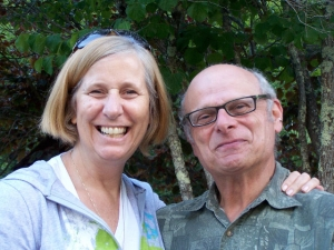 Cindy Sheehan and Arnoldo Levine. July 31, 2009 Occidental, Calif