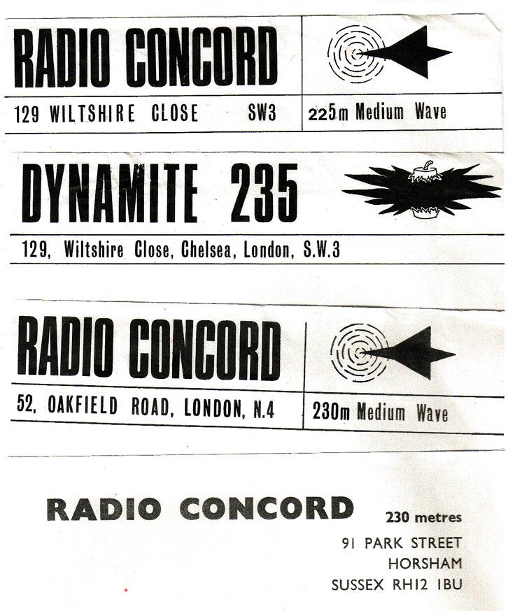 Radio Concord Letterhead