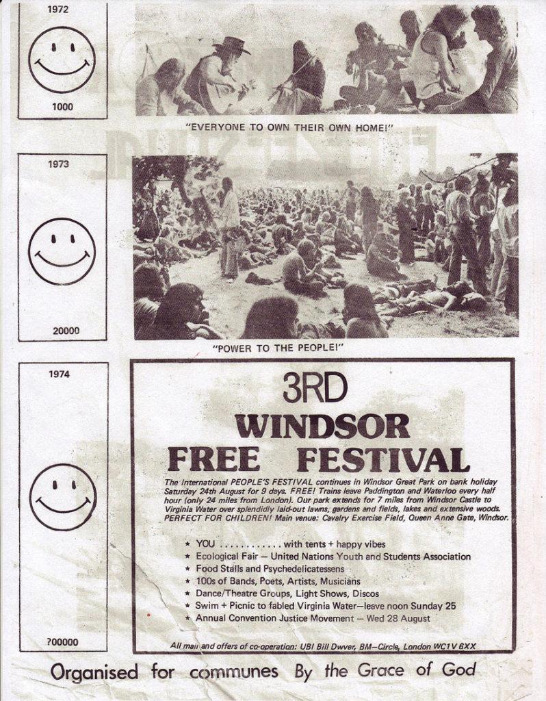 3rd Windsor Free International Peoples Festival - Aug. 24,1974