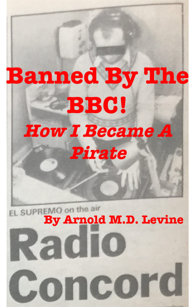 Banned by the BBC! - How I Became a Pirate - book cover